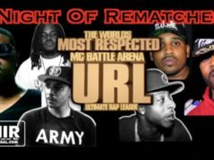 NIGHT OF REMATCHES URL'S NEXT BATTLE RAP IMPRINT