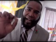 DR. UMAR JOHNSON SPEAKS WITH SUPPORTERS, POST TRIAL