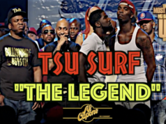 "SURF ""LEGEND TIER"" PAYING HOMAGE TO A BATTLE RAP LEGEND!"